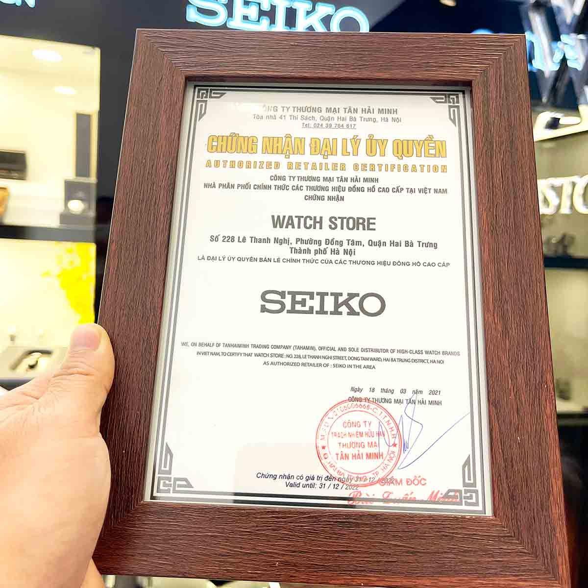 Đồng Hồ Seiko™ Nam Từ 3 - 5 Triệu - Ảnh 2